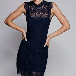 FP Intimately Daydream Slip Lace Dress